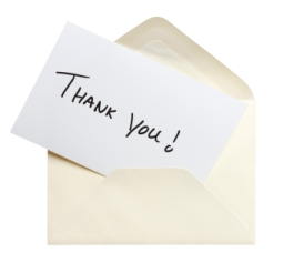 gThankYou! Thank You Note