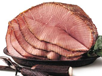 Nueske's spiral sliced bone-in ham