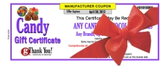 gThankYou! Candy Gift Certificate